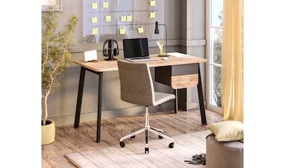 """Schreibtisch »Tes«, Schreibtisch """"Tes"""" mit 2 Schubladen, wahlweise links/rechts montierbar kaufen"""