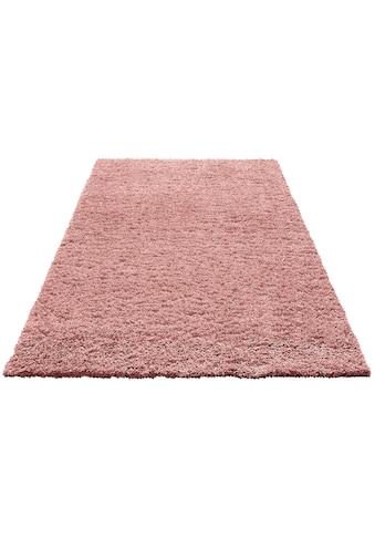 Home affaire Hochflor-Teppich »Viva«, rechteckig, 45 mm Höhe, gewebt, Wohnzimmer kaufen