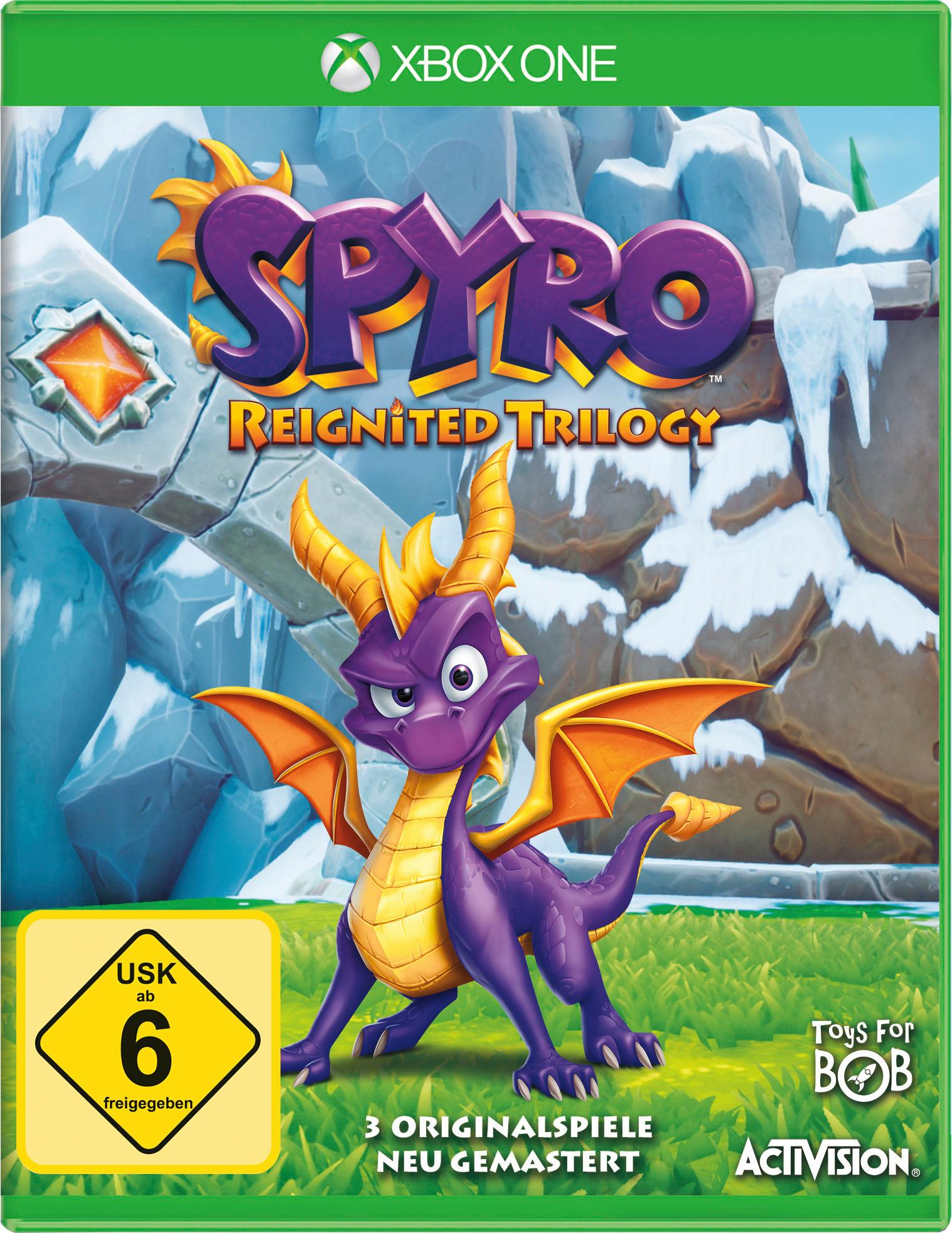 Image of Activision Spiel »Spyro Reignited Trilogy«, Xbox One