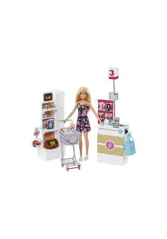 Spielset, Barbie®, »Supermarkt mit Puppe« kaufen