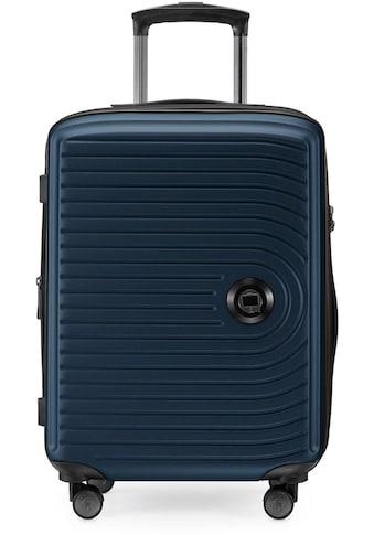 Hauptstadtkoffer Hartschalen-Trolley »Mitte, dunkelblau, 55 cm«, 4 Rollen kaufen