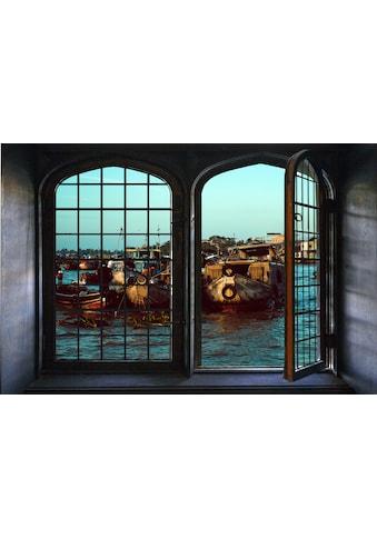 queence Wandsticker »Fischerboote« kaufen