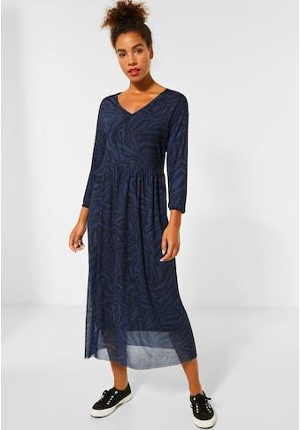 STREET ONE Jerseykleid, aus Mesh kaufen