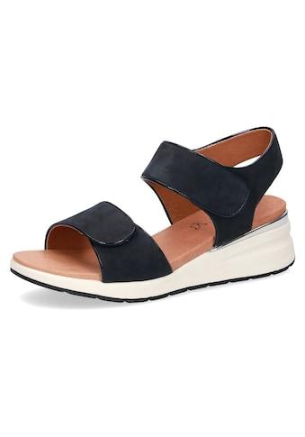 Caprice Riemchensandale, im komfortabler Schuhweite G (=weit) kaufen