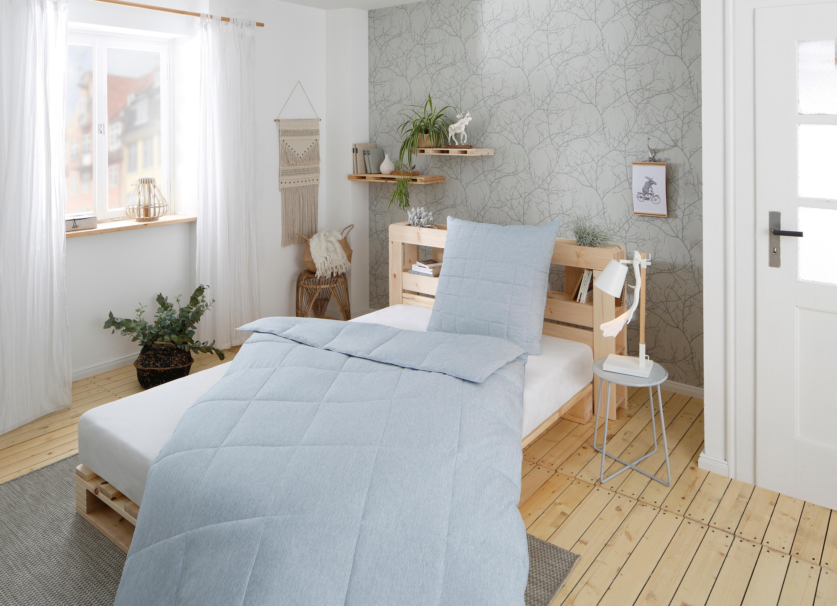 Image of Älgdröm Kunstfaserbettdecke »Norrström«, leicht, (1 St.), Modernes schönes skandinavisches Design mit super Preis-/Leistungsverhältnis, erhältlich in 3 Wärmeklassen