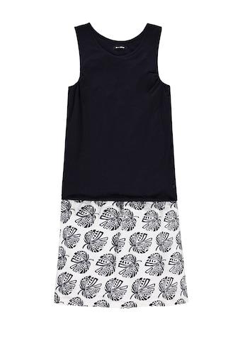 Marc O'Polo Junior Jerseykleid »Black and White«, ärmellos kaufen