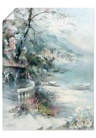 Artland Wandbild »Buchtseite I«, Küste, (1 St.), in vielen Grössen & Produktarten... kaufen