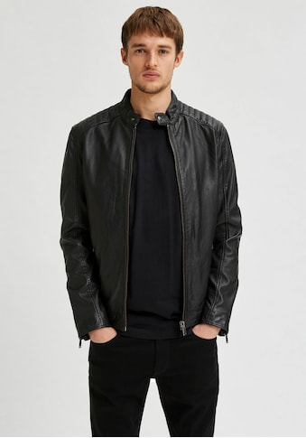 SELECTED HOMME Lederjacke »ICONIC RACER LEATHER JKT« kaufen