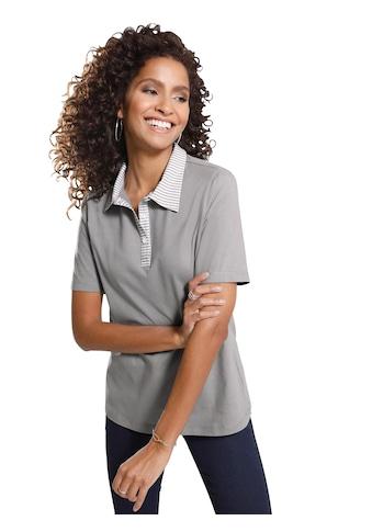 Classic Basics Poloshirt mit Streifenmuster kaufen