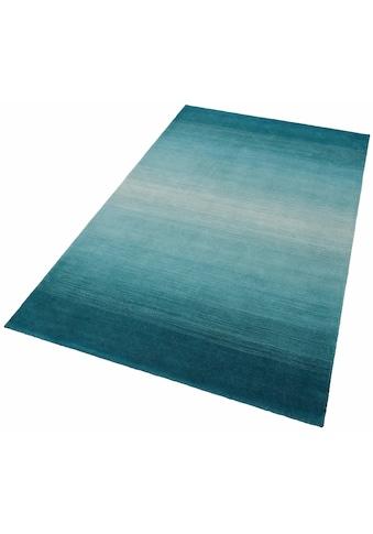 THEKO Wollteppich »Wool Comfort«, rechteckig, 15 mm Höhe, reine Wolle, Wohnzimmer kaufen
