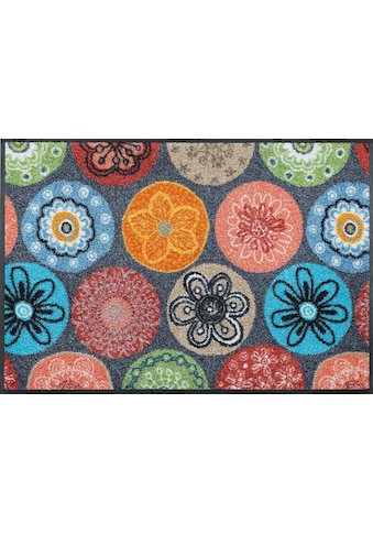 wash+dry by Kleen-Tex Fussmatte »Coralis«, rechteckig, 7 mm Höhe, Schmutzfangmatte,... kaufen