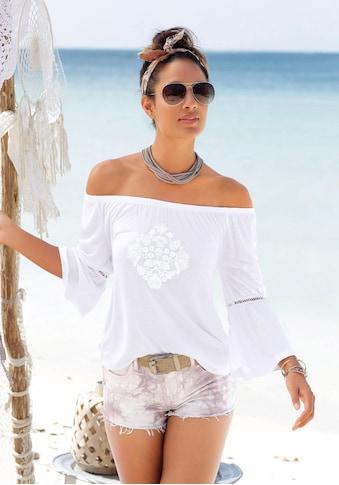 Buffalo Strandshirt, mit dezentem Frontdruck kaufen