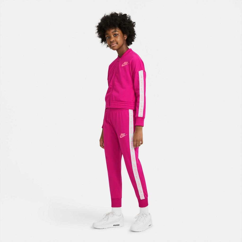 Nike Sportswear Trainingsanzug »GIRLS NIKE SPORTSWEAR TRACK SUIT TRICOT«, (Set, 2 tlg.)