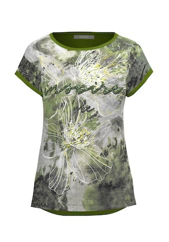 bianca Print-Shirt »DINI«, mit stylischem Frontprint und Pailetten-Schriftzug kaufen
