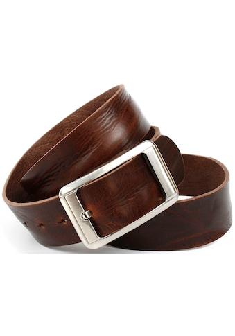 Anthoni Crown Ledergürtel, mit grober Oberflächennarbung kaufen