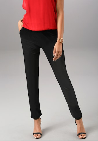 Aniston SELECTED Schlupfhose, mit Gummizug-Abschlüssen an den Beinen - NEUE KOLLEKTION kaufen