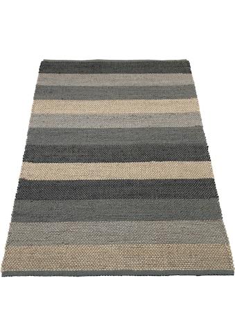 Teppich, »Hanf Stripe«, Home affaire, rechteckig, Höhe 5 mm, handgewebt kaufen