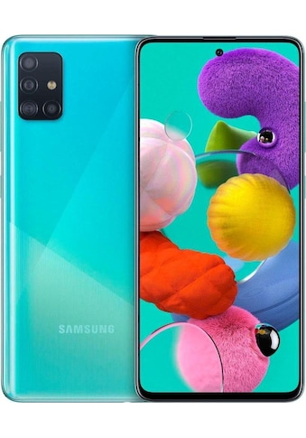 Smartphone (16,4 cm/6,5 Zoll, 128 GB Speicherplatz, 48 MP Kamera), Samsung, »Galaxy A51« kaufen