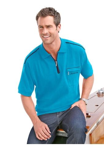 Catamaran Kurzarm - Poloshirt mit kontrastfarbigen Akzenten kaufen