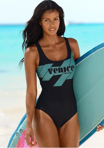Venice Beach Badeanzug, mit sportlichem Logo-Druck kaufen