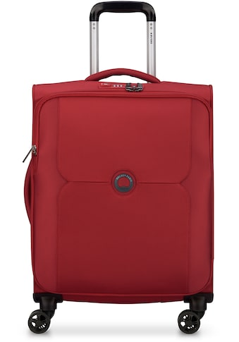 Delsey Weichgepäck-Trolley »Mercure Slim Line, 55 cm, red«, 4 Rollen kaufen