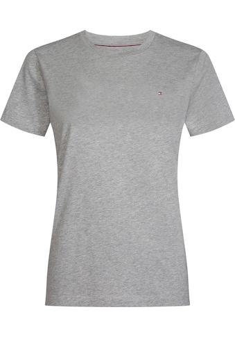 TOMMY HILFIGER T - Shirt »HERITAGE CREW NECK TEE« kaufen