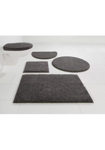 Home affaire Badematte »Maren«, Höhe 15 mm, rutschhemmend beschichtet, fussbodenheizungsgeeignet, Bio-Baumwolle kaufen