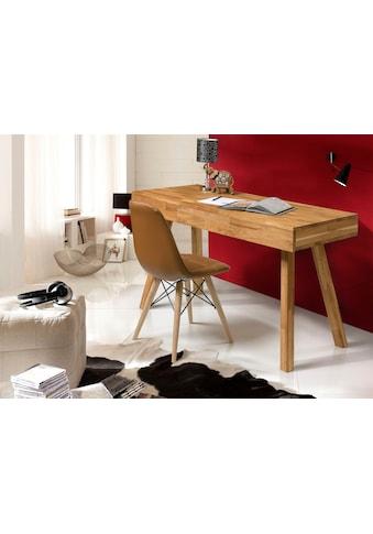 andas Schreibtisch »Modern«, aus schönem massivem Eichenholz, 3 Schubladen,... kaufen