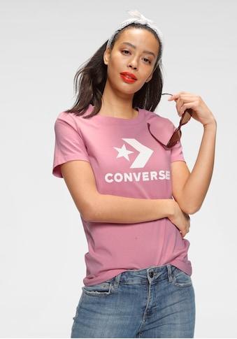 Converse T - Shirt »STAR CHEVRON CENTER FRONT TEE« kaufen