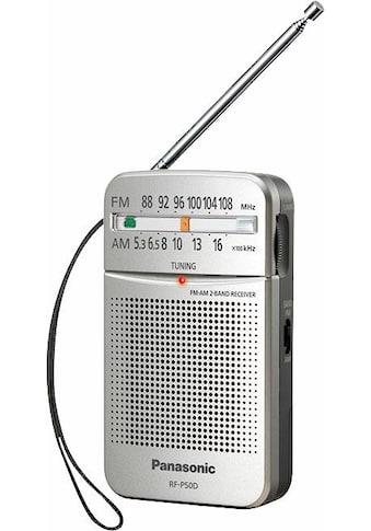 Panasonic Radio »RF-P50DEG«, ( 150 W), automatischer Frequenzregelung (AFC) kaufen