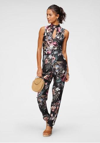 Melrose Overall, mit femininem Cut-Out und modischem Blumen-Print - NEUE KOLLEKTION kaufen