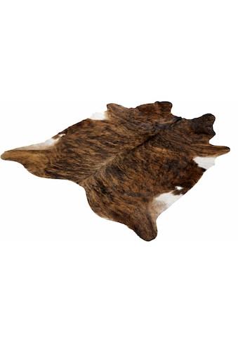 Böing Carpet Fellteppich »Fell Exot«, fellförmig, 4 mm Höhe, echtes Rinderfell,... kaufen