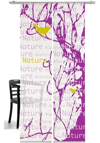emotion textiles Schiebegardine, HxB: 260x60, mit Befestigungszubehör kaufen