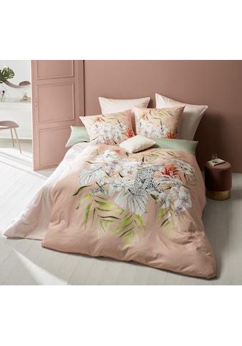 fleuresse Wendebettwäsche »Bed Art S 4197 (2/3tlg.)«, Mako-Satin, mit royaler Raubkatze kaufen