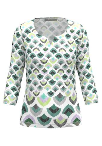 bianca Print-Shirt »PAULA«, grafischer Print in angesagten Pastelltönen kaufen