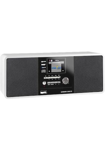 IMPERIAL Internet-Radio »Dabman i200 CD Weiss«, (CD-WLAN Digitalradio... kaufen