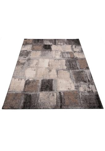 merinos Teppich »ELEGANT MOSAIC«, rechteckig, 18 mm Höhe, Wohnzimmer kaufen