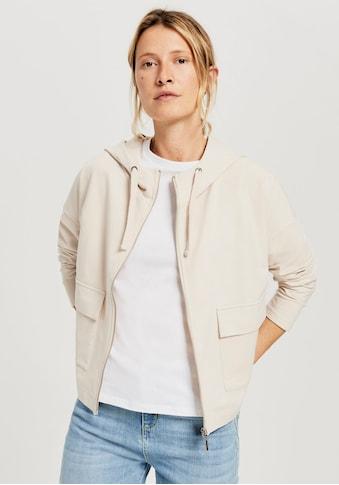 OPUS Kapuzensweatjacke »Guliwa«, mit grossen Jackentaschen vorne kaufen