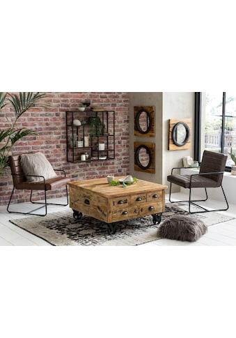 SIT Couchtisch »Rustic«, Rustic», im factory design, Breite 90 cm, Shabby Chic,... kaufen