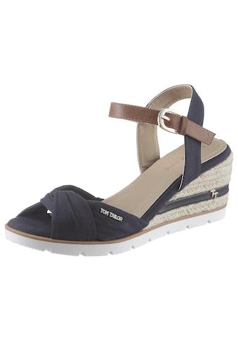 TOM TAILOR Sandalette, mit Label kaufen