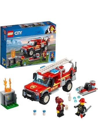 """LEGO® Konstruktionsspielsteine """"Feuerwehr - Einsatzleitung (60231), LEGO® City"""", Kunststoff, (201 - tlg.) kaufen"""