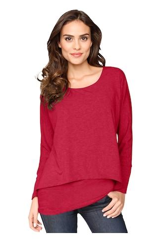 Ambria Longshirt im Lagen - Look kaufen