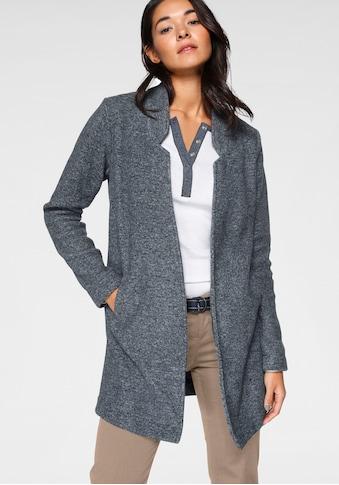 AJC Strickmantel, aus kuscheliger Fleecequalität mit Reverskragen kaufen