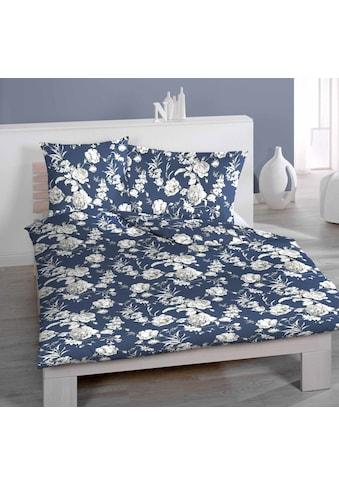 Satin - Bettwäsche mit Rosenmuster, Home Fashion kaufen