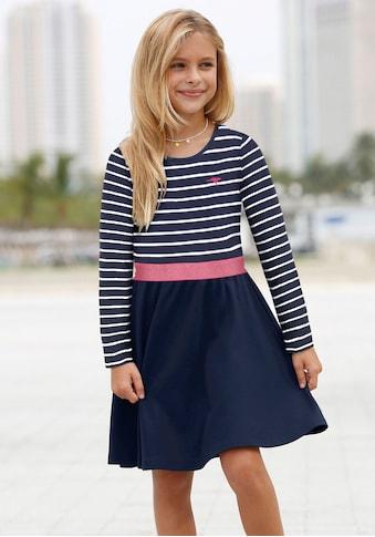 KangaROOS Jerseykleid, mit Glitzerband kaufen