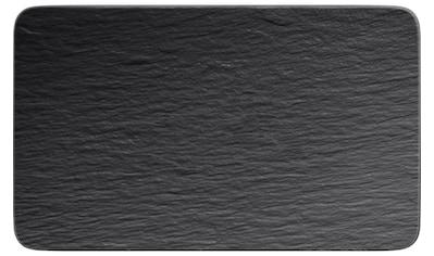 Villeroy & Boch Speiseteller »Manufacture Rock 1 Stück, Schwarz«, (1 St.) kaufen