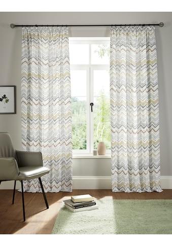 andas Vorhang »Thala«, blickdicht, Bio-Baumwolle, einseitig bedruckt, waschbar kaufen