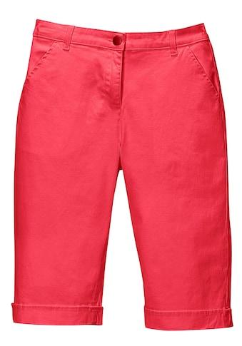 Classic Basics Jeans - Bermudas mit fixiertem Aufschlag am Saum kaufen