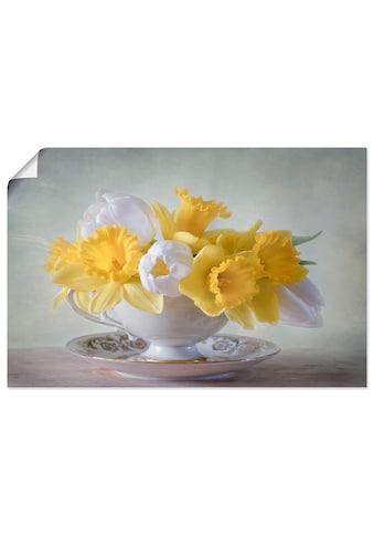 Artland Wandbild »Frühling«, Blumen, (1 St.), in vielen Grössen & Produktarten -... kaufen