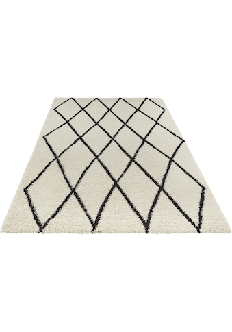 freundin Home Collection Hochflor-Teppich »Truth«, rechteckig, 35 mm Höhe, Langflor... kaufen